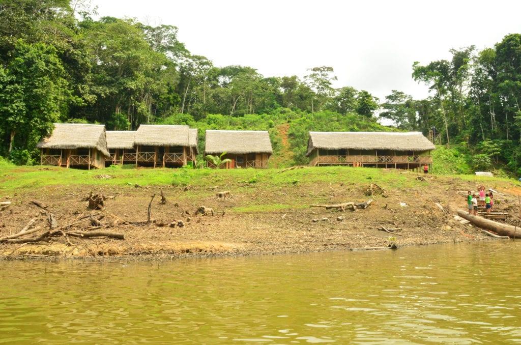 Ubytování v Amazonském pralese