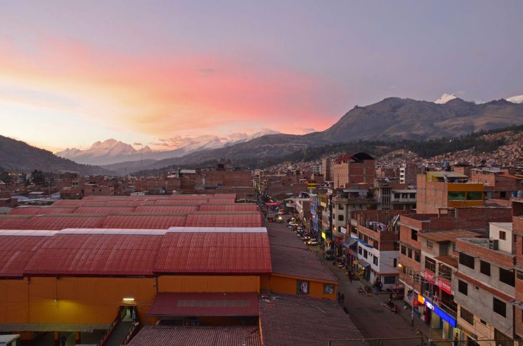 Jižní Amerika a nejvyšší hora Peru