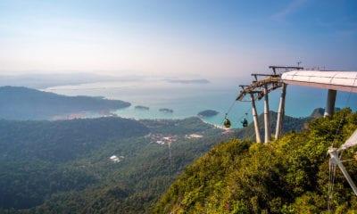 Výhled na ostrov Langkawi.