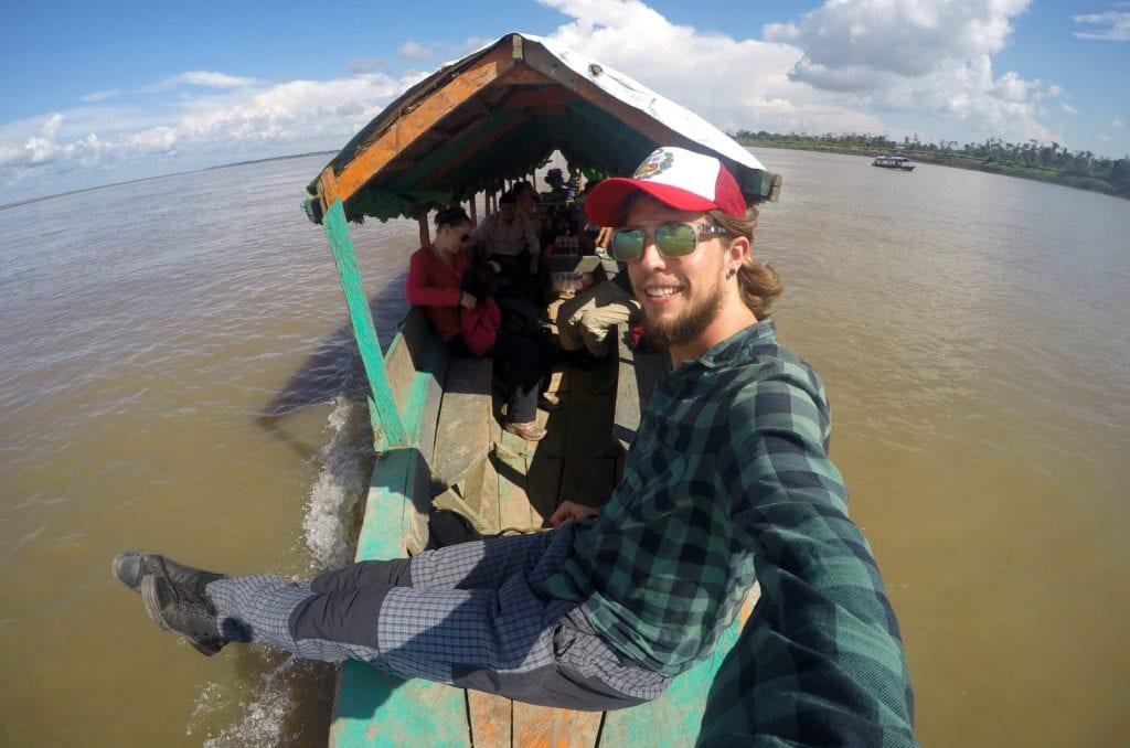 Jižní Amerika a Amazonský prales v Peru