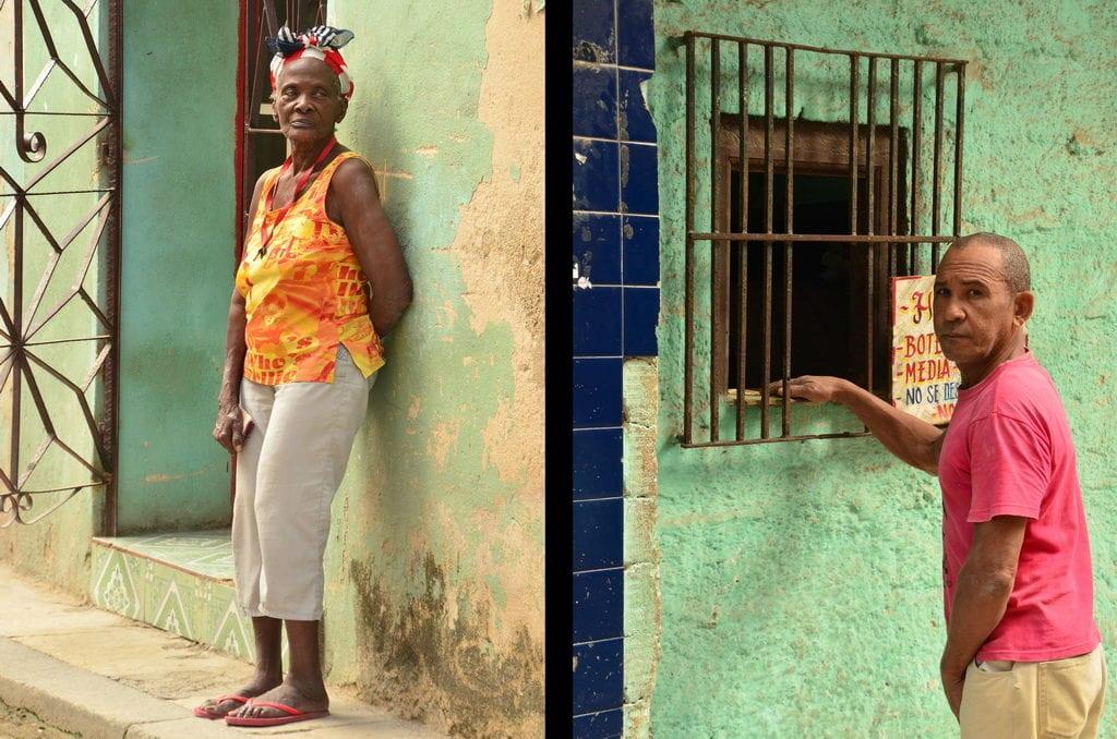I takto někdy vypadá obchod na Kubě