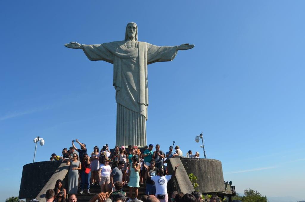 Socha Krista Spasitele je největší památkou v Riu