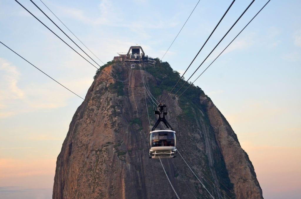 Rio a adrenalinový zážitek z jízdy lanovkou