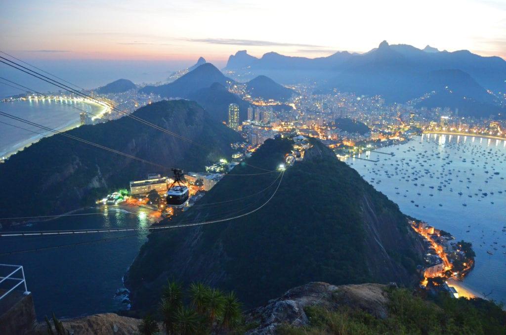 Rio má úžasnou polohu