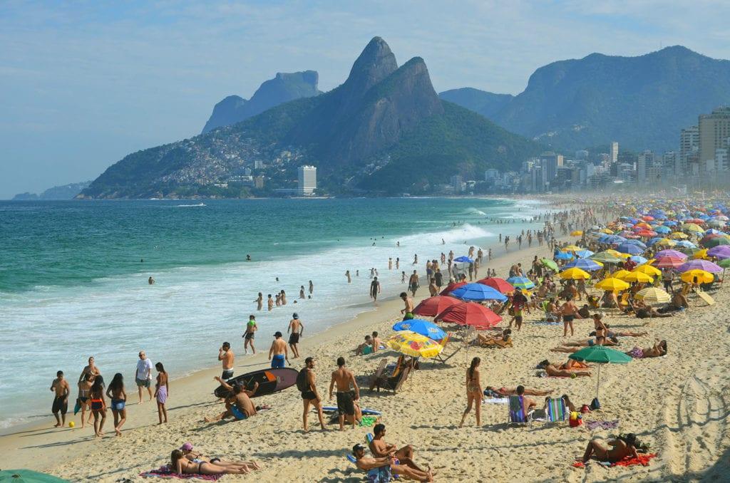 Rio de Janeiro a slavná Copacabana