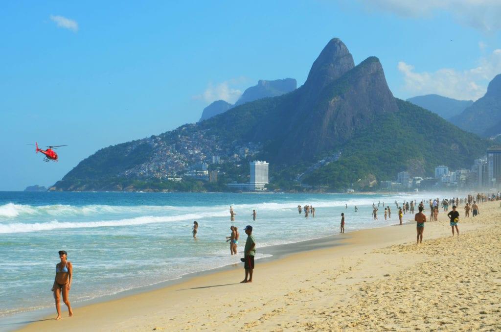 Pláž Ipanema v Riu