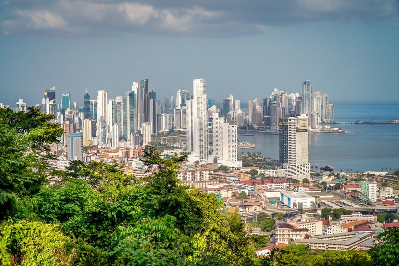 Moderní město Panama City