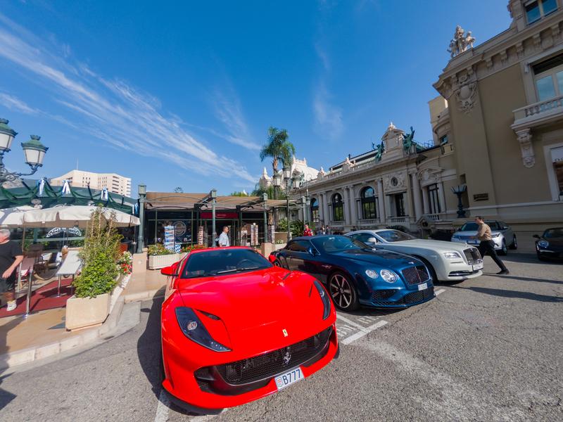 Monako je domovem mnoha milionářů