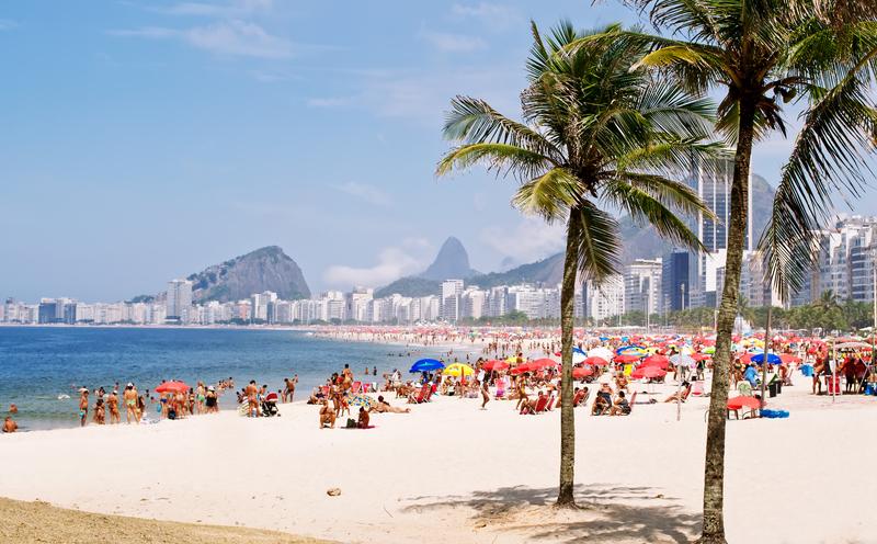Přes den je Rio jako proměněné