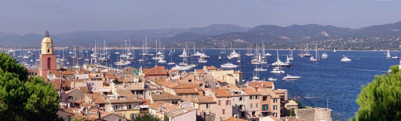 Azurové pobřeží a Saint Tropez