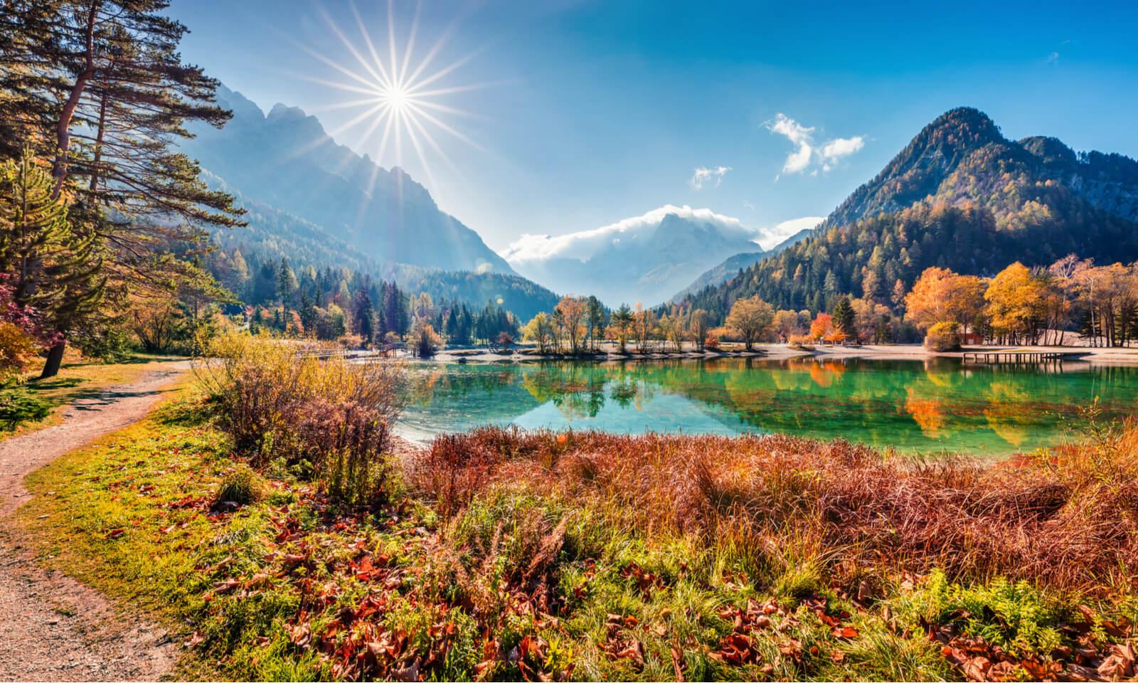 Podzim v Julských Alpách
