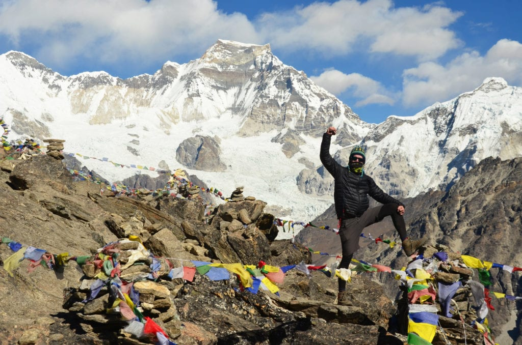Z krásy u Everestu jsem doslova oněměl