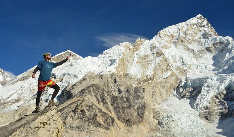 Everest a cesta do základního tábora