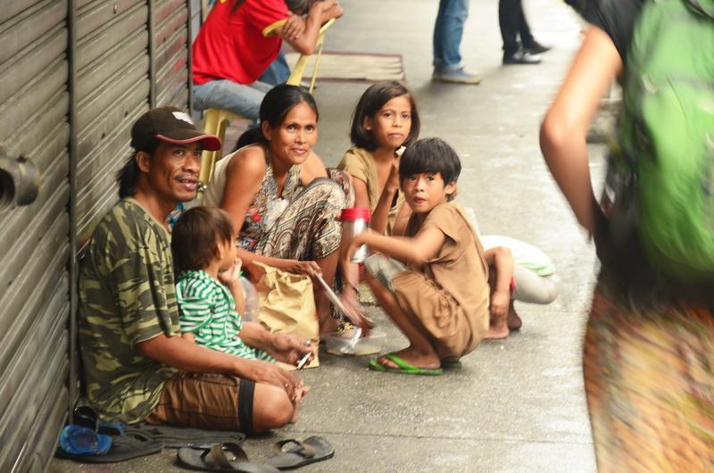Chudoba je v hlavním městě vidět na každém kroku
