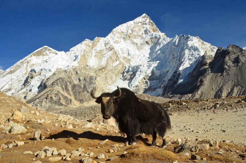 V nejvyšším pohoří světa se může počasí měnit velmi rychle