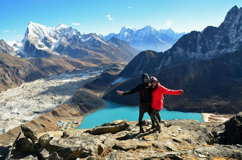 Gokio Ri a Mount Everest Area