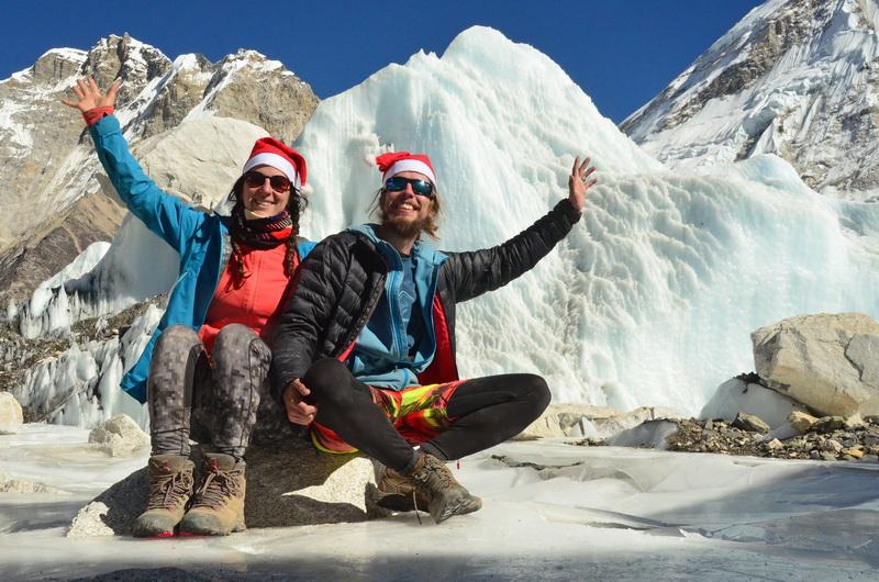 Do základního tábora Everestu jsme došli před Vánoci