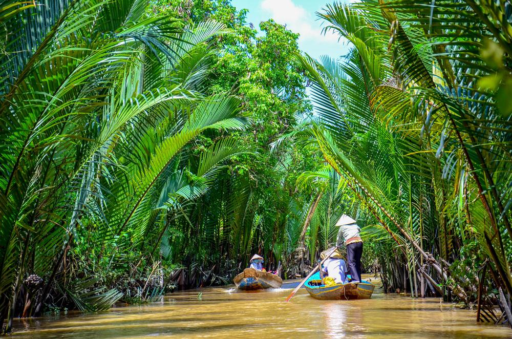 Delta Mekongu je skvělý výlet z Ho Či Minova Města