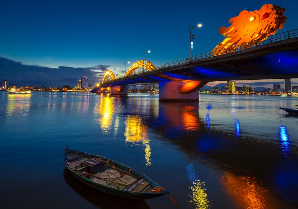 Dračí most v Danangu
