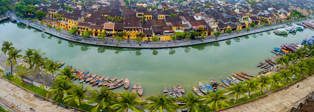 Příjemné město Hoi An