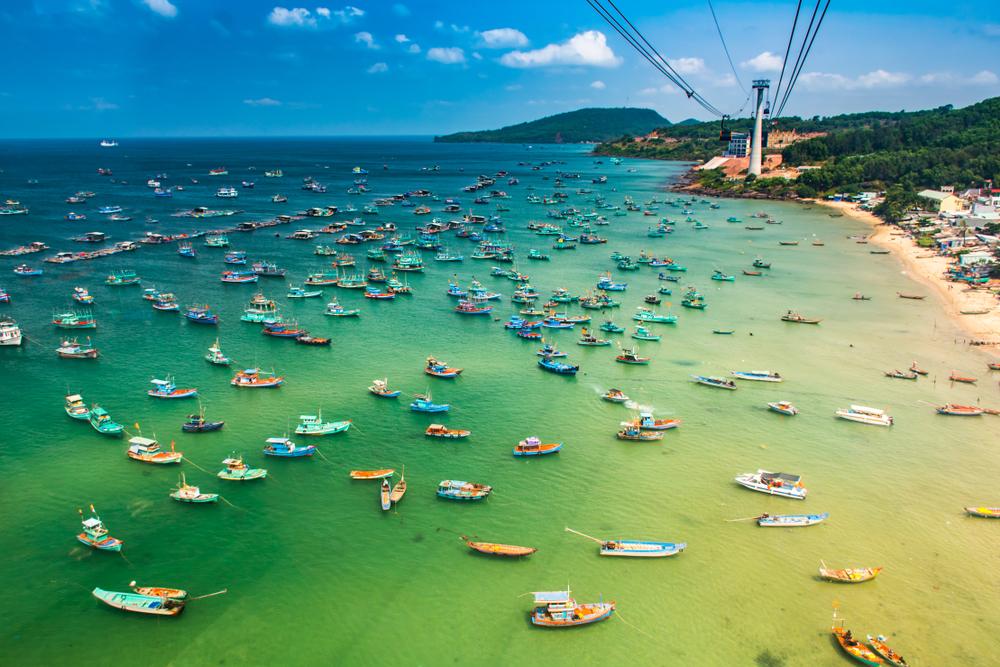 Vietnam má i mnoho pláží