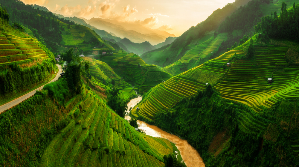 Vietnam a jedinečná příroda