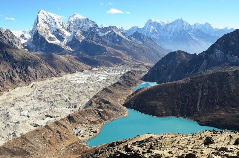 Everest, Gokio Ri