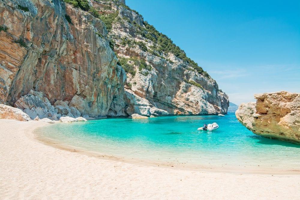 Cala Mariolu, Sardínia, itálie