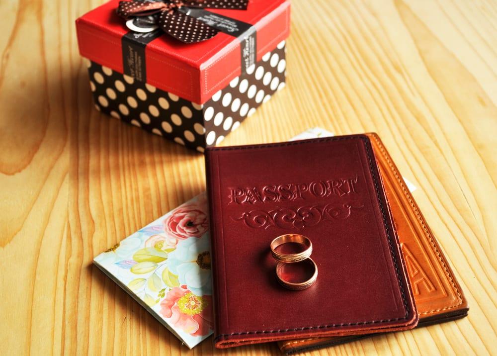 Cestovní doklady po svatbě