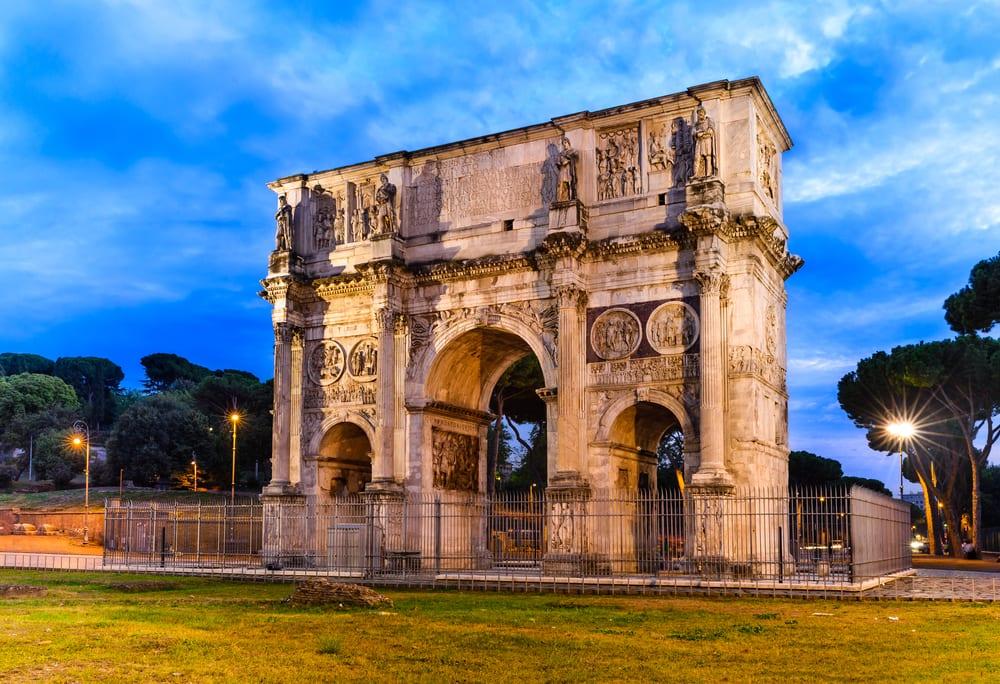 Konstantinův vítězný oblouk, Řím