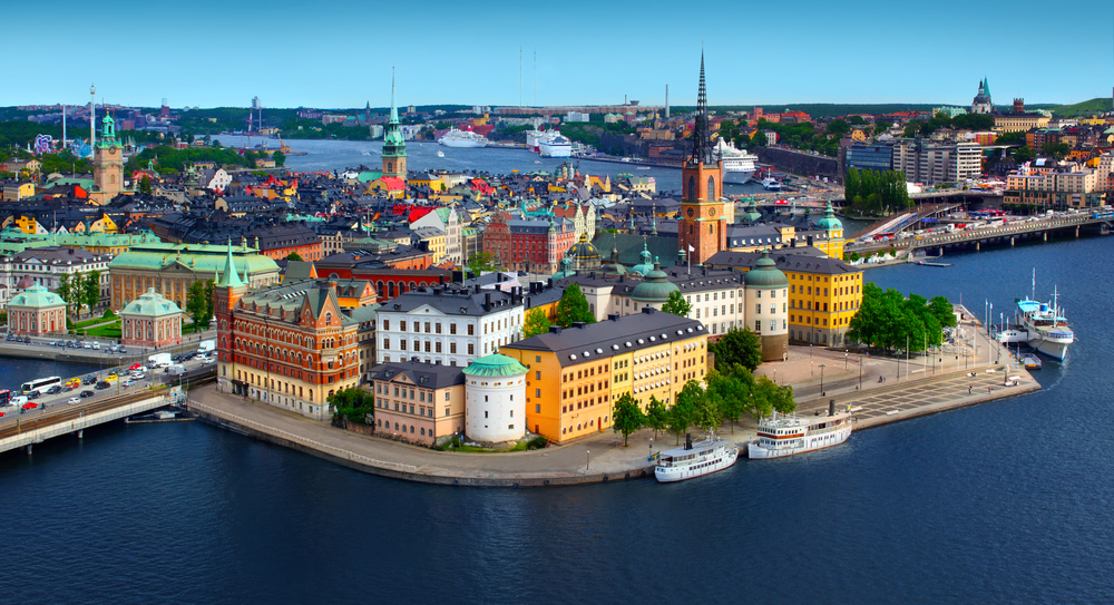 Víkendový výlet Stockholm