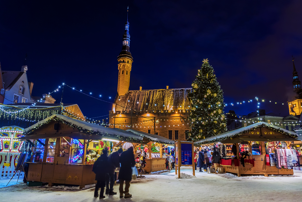 Tallinn Vánoce