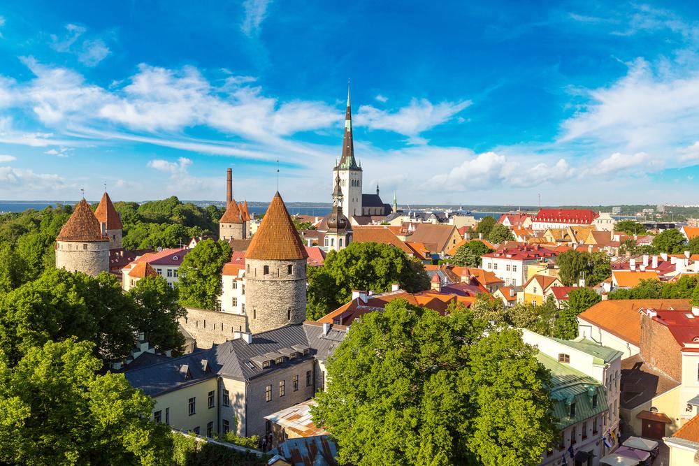 Tallinn je velmi krásné historické město