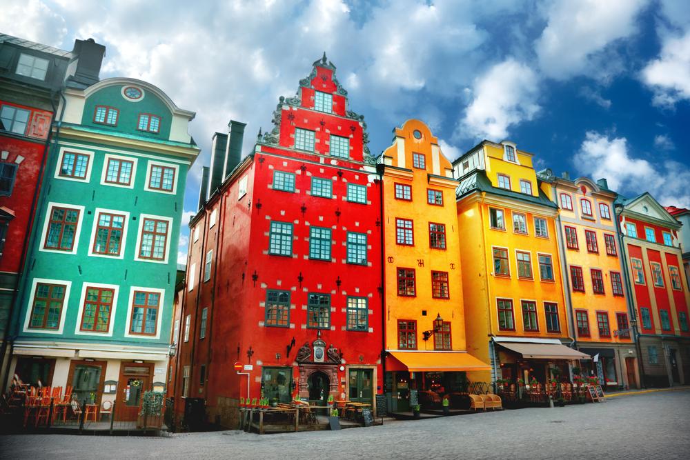 Stockholm má velmi zajímavou architekturu