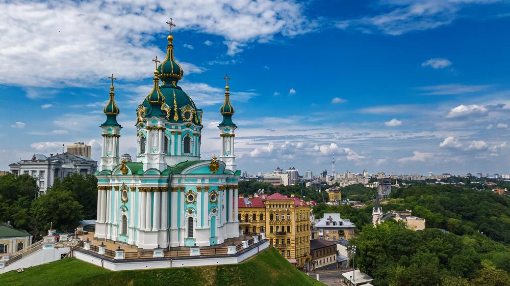 Kyjev je perfektní destinací pro víkendový výlet
