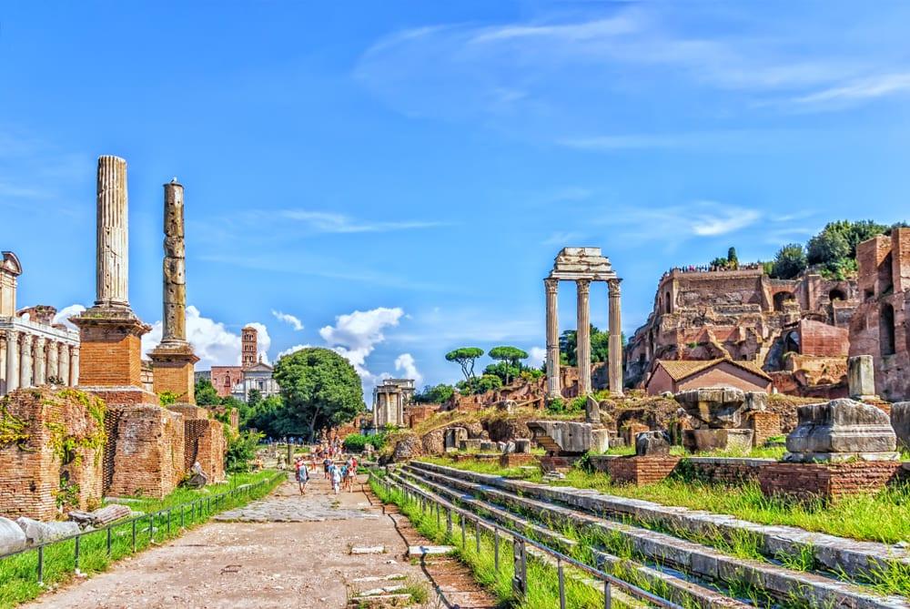Řím, ulice Via Sacra