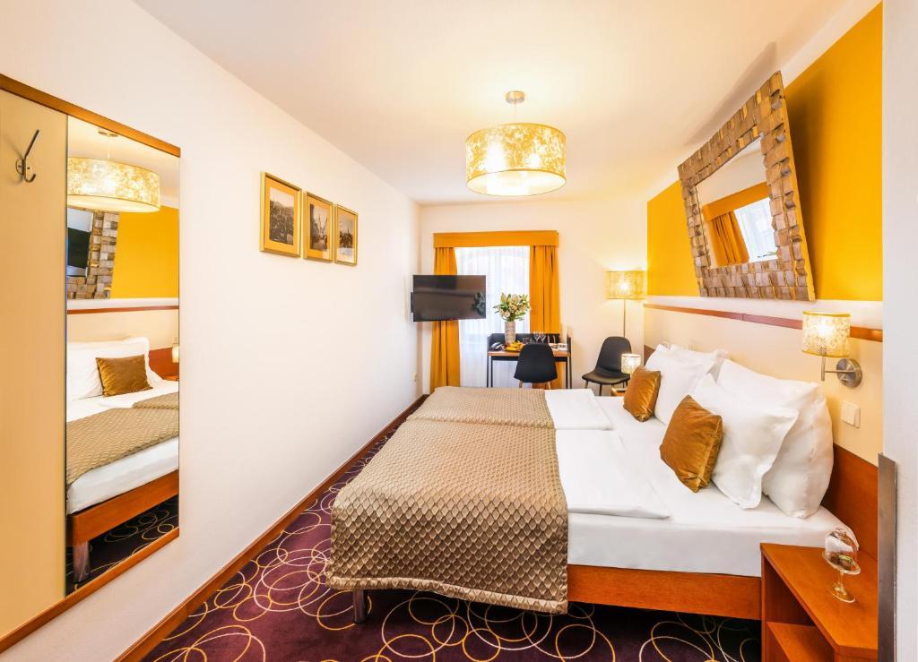Hotelový pokoj v Hotelu Bellevue****