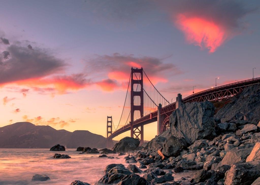San Francisco, slavné i svým mstem Golden Gate