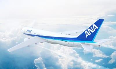 Letadlo společnosti ANA