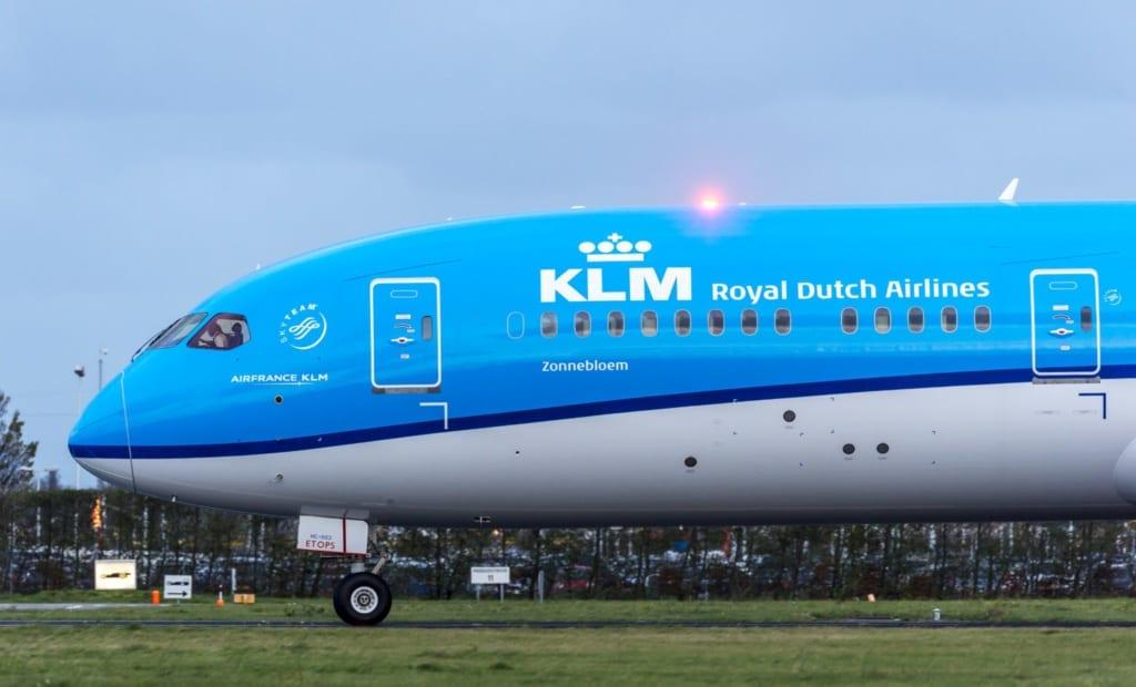 KLM - letadlo