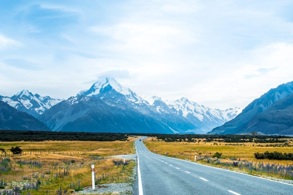 Hory na Novém Zélandu