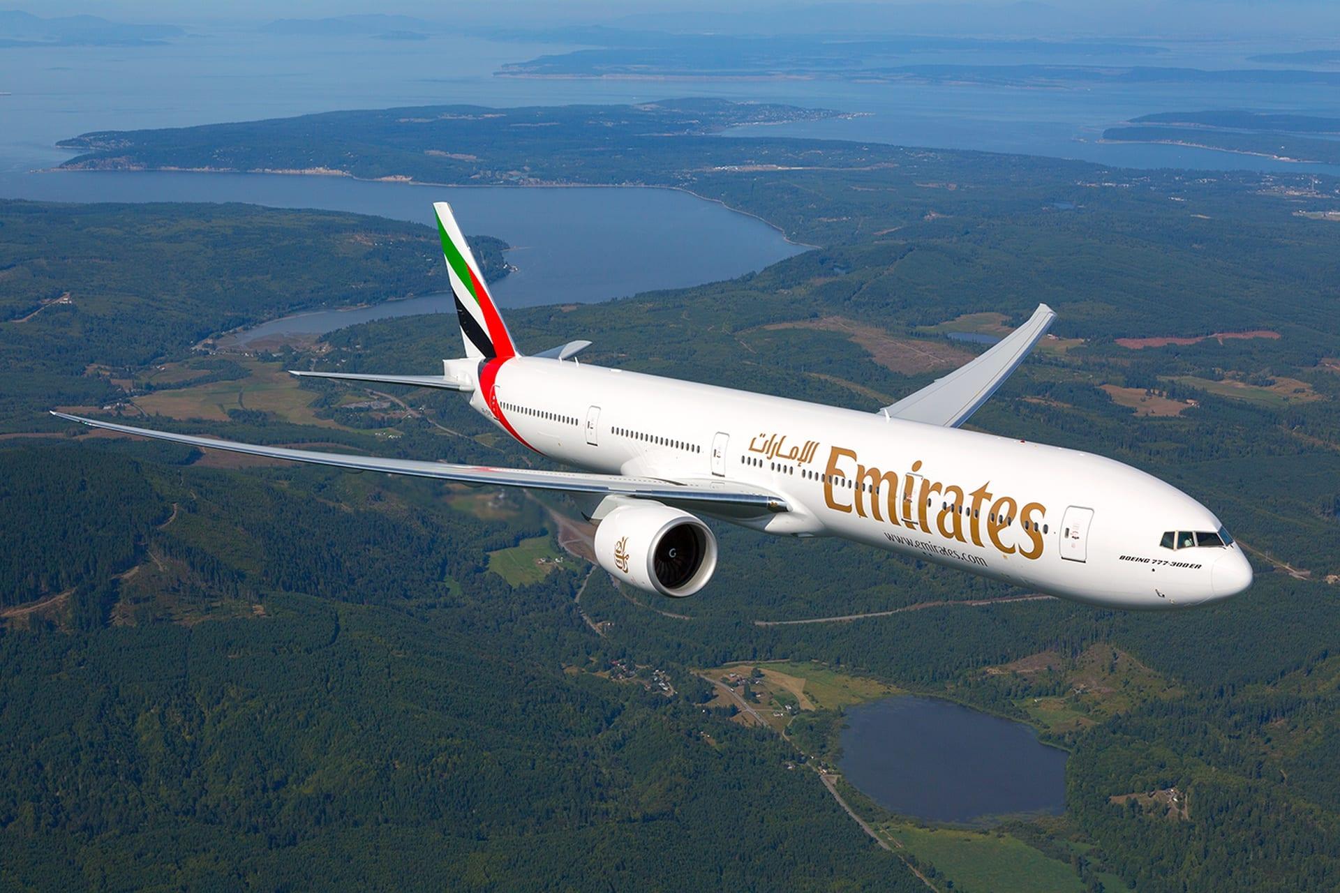 Emirates - letadlo