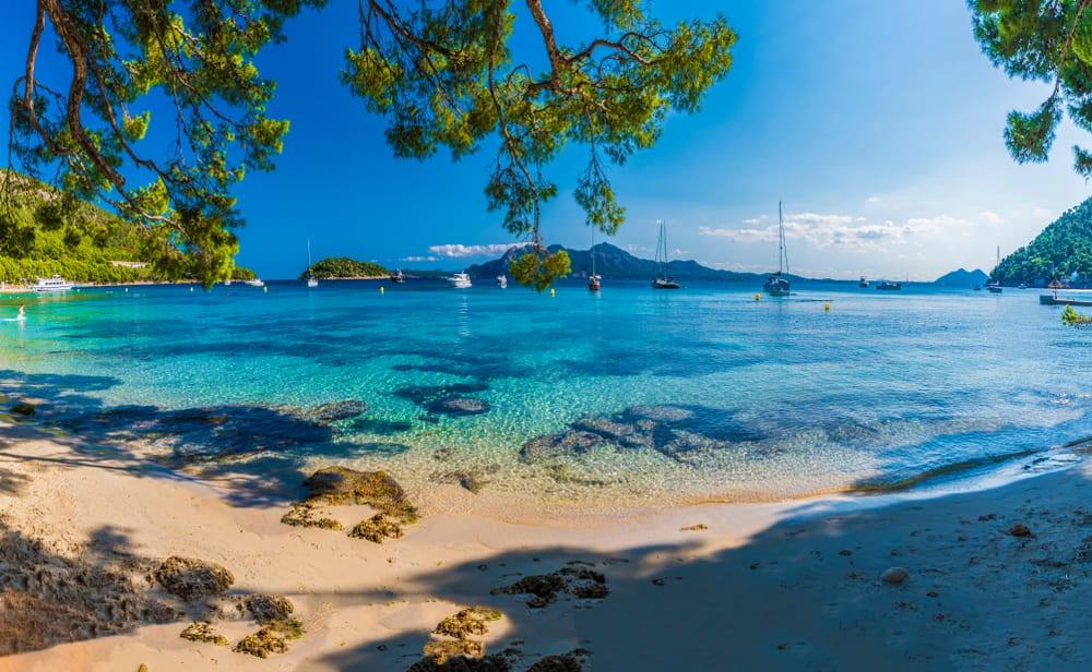 palma mallorca pláž