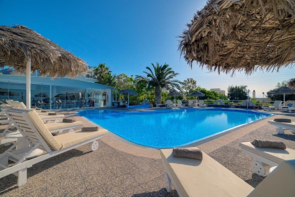 Hotel Villa Olympia - bazén