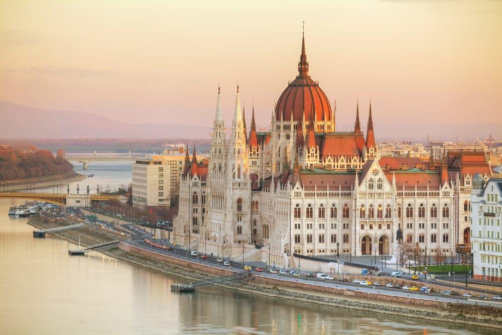 Maďarský parlament v Budapešti