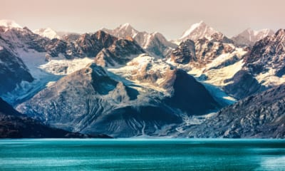 Scenérie aljašské přírody