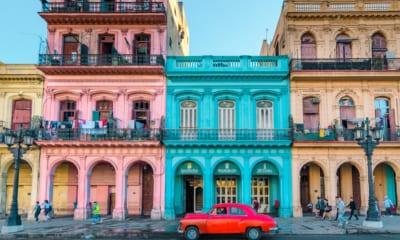 Ulice v Havaně na Kubě