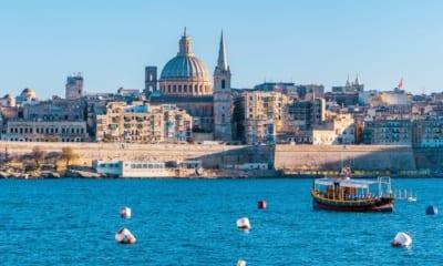 Panorama hlavního města na Maltě