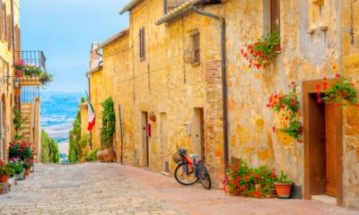 San gimignano v Itálii