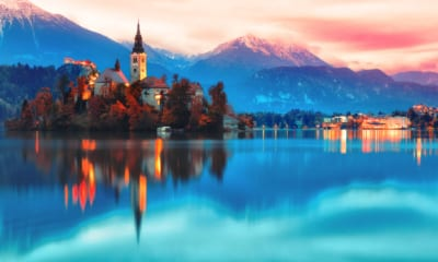 Jezero Bled ve Slovinsku